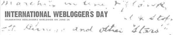 Celebraciones : de Periodistas, Gráficos y Bloggers. Junio es una fiesta !...
