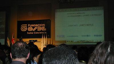 James Boyle en Córdoba.. resumen y conferencia en mp3