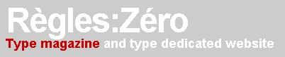 """""""Regles Zero"""". Typo and downlad.."""