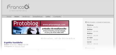 Banner en FrancoG