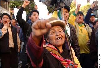 Remember Bolivia...