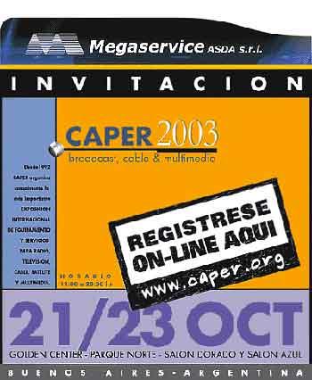 Caper 2003 en Buenos Aires...