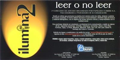 "Concurso de Afiches: ""Ilumina2"", by Papelera Cumbre"