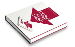 """Copia este libro"", de David Bravo."