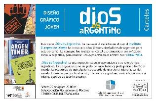 """Río Cuarto: """"Dios es Argentino"""" - una muestra para verse reflejado."""