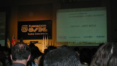 James Boyle en Córdoba.. resumen y conferencia en mp3